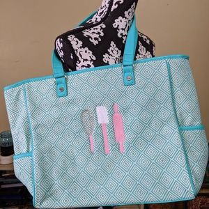 Thirty One embroidered kitchen utensils Tote bag